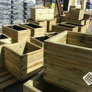 Donice drewniane na zamówienie