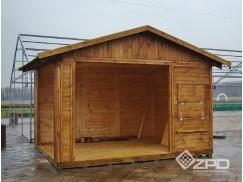 Domki drewniane o wymiarach i kształtach według pomysłu klienta. Część konstrukcji to autorskie projekty, inne to adaptacje i modyfikacje typowych modeli katalogowych.