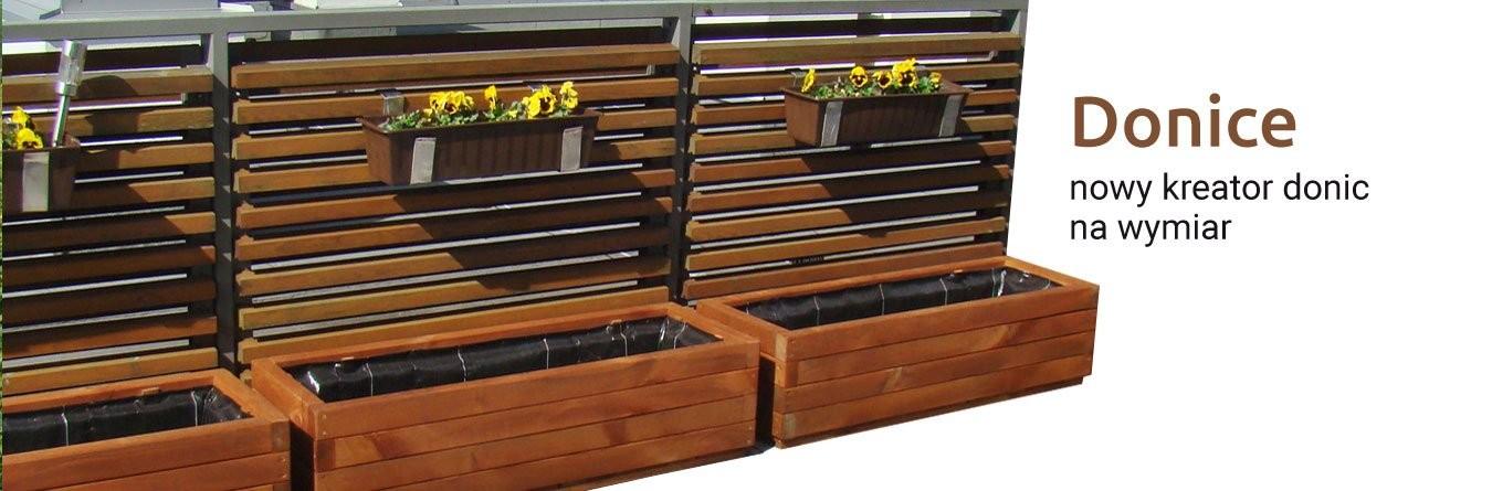 Meble Ogrodowe Sklep Donice Drewniane Na Wymiar Kratki